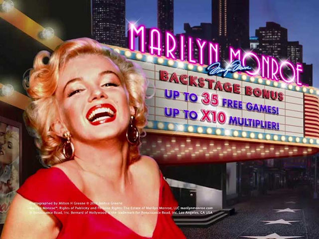 Marilyn Monroe Playtech